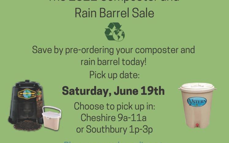 Composter & Rain barrel Sale